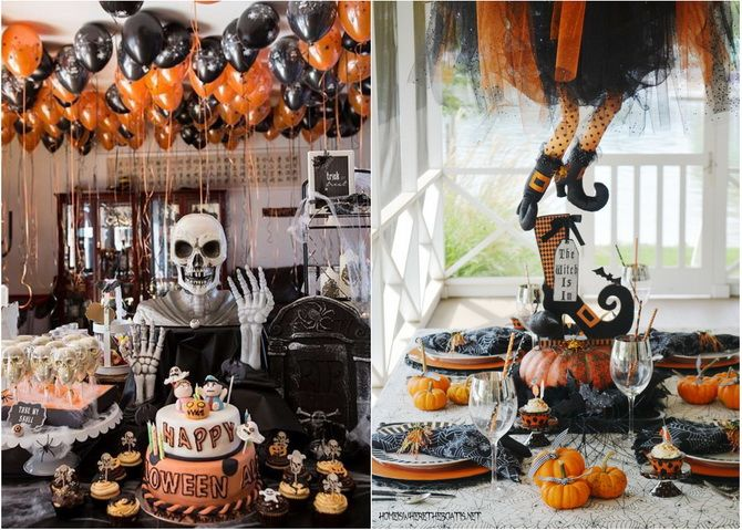 Комната страха: украшаем домашний интерьер на Хэллоуин 2020 22