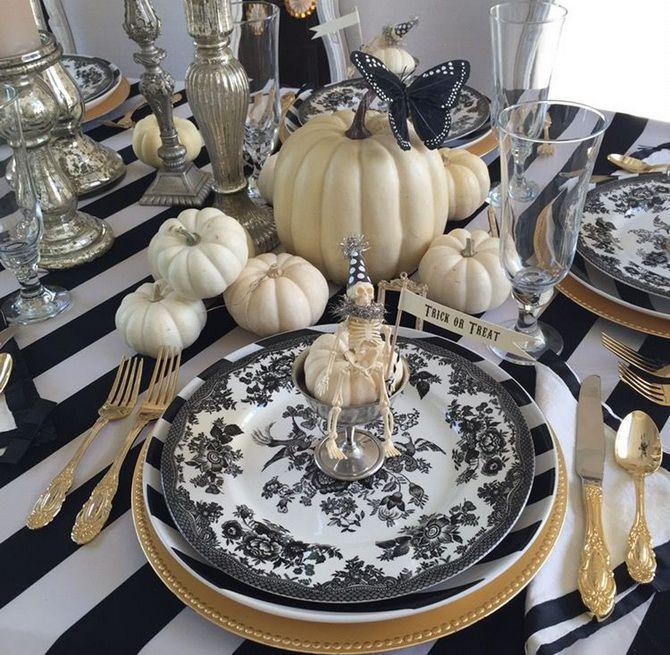 Комната страха: украшаем домашний интерьер на Хэллоуин 2020 24