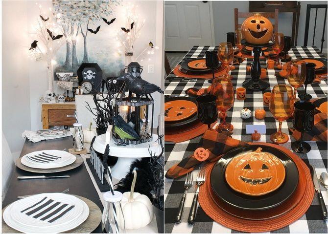 Комната страха: украшаем домашний интерьер на Хэллоуин 2020 25