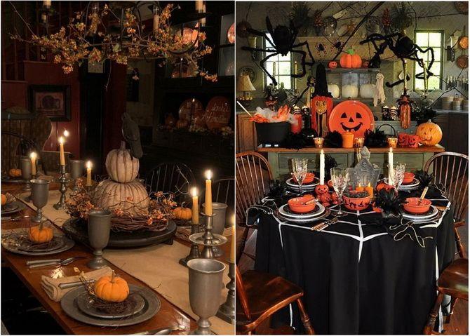 Комната страха: украшаем домашний интерьер на Хэллоуин 2020 26