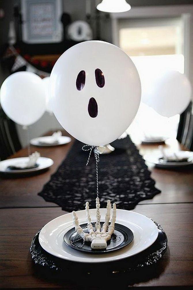 Комната страха: украшаем домашний интерьер на Хэллоуин 2020 28