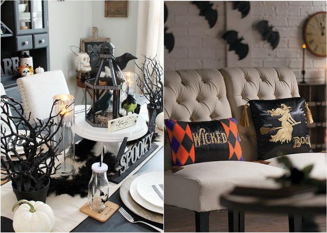 Комната страха: украшаем домашний интерьер на Хэллоуин 2020 30