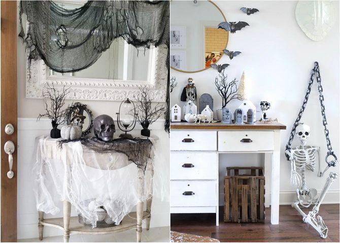 Комната страха: украшаем домашний интерьер на Хэллоуин 2020 31