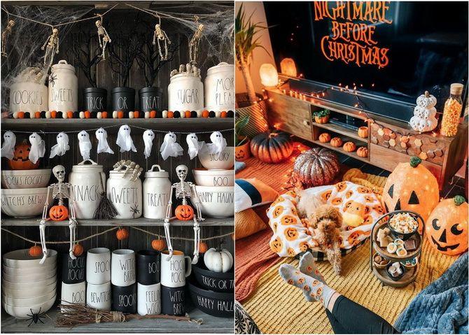 Комната страха: украшаем домашний интерьер на Хэллоуин 2020 33