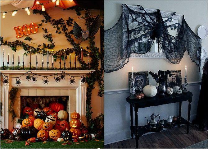 Комната страха: украшаем домашний интерьер на Хэллоуин 2020 34
