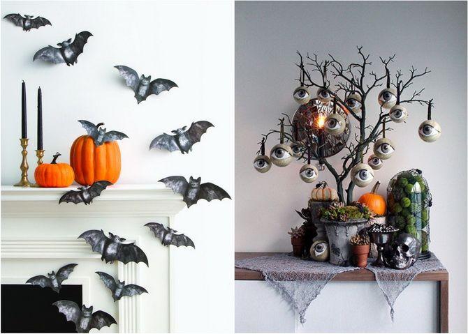 Комната страха: украшаем домашний интерьер на Хэллоуин 2020 35