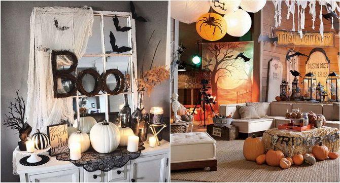 Комната страха: украшаем домашний интерьер на Хэллоуин 2020 42