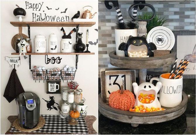 Комната страха: украшаем домашний интерьер на Хэллоуин 2020 43
