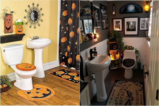 Комната страха: украшаем домашний интерьер на Хэллоуин 2020 47