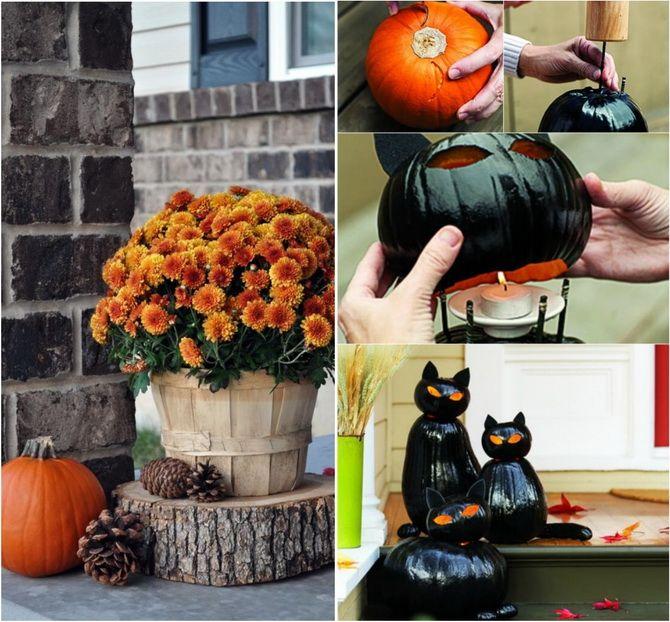 Комната страха: украшаем домашний интерьер на Хэллоуин 2020 49