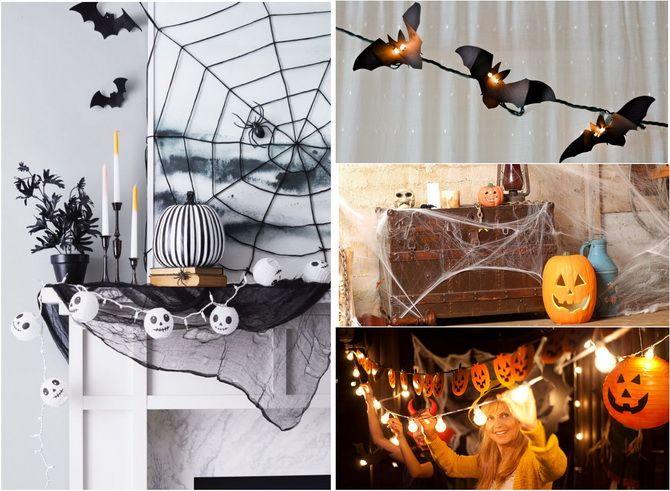 Комната страха: украшаем домашний интерьер на Хэллоуин 2020 6