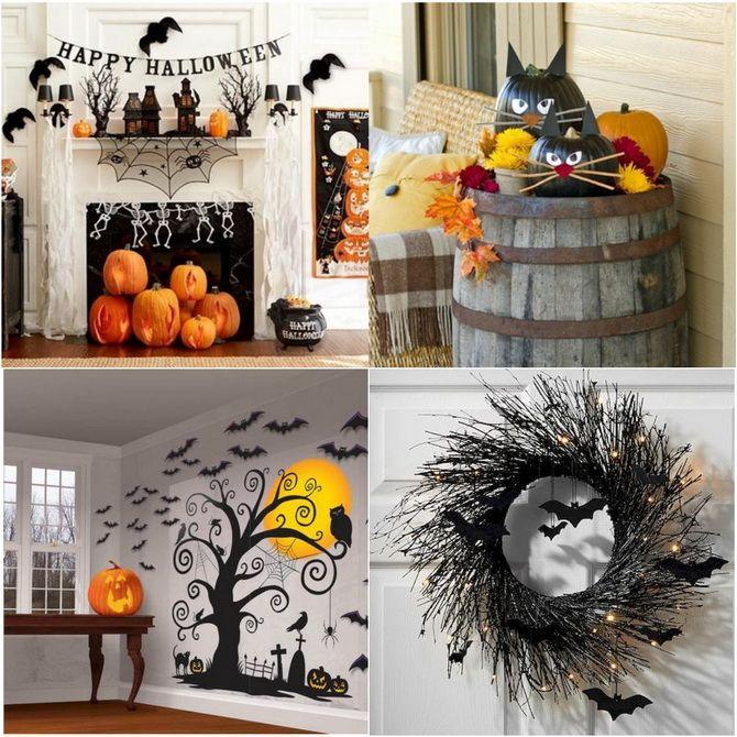 Комната страха: украшаем домашний интерьер на Хэллоуин 2020 7