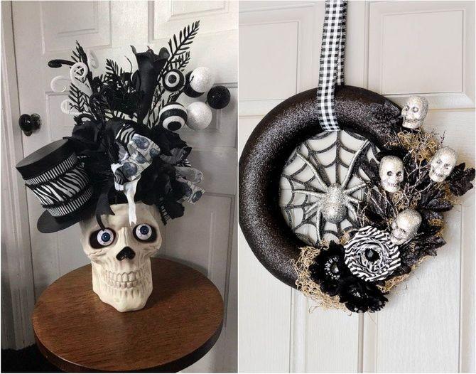 Комната страха: украшаем домашний интерьер на Хэллоуин 2020 8