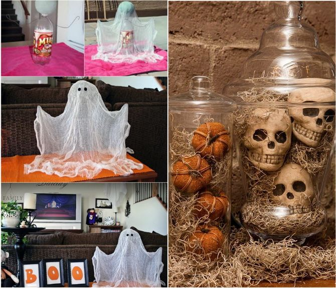 Комната страха: украшаем домашний интерьер на Хэллоуин 2020 10