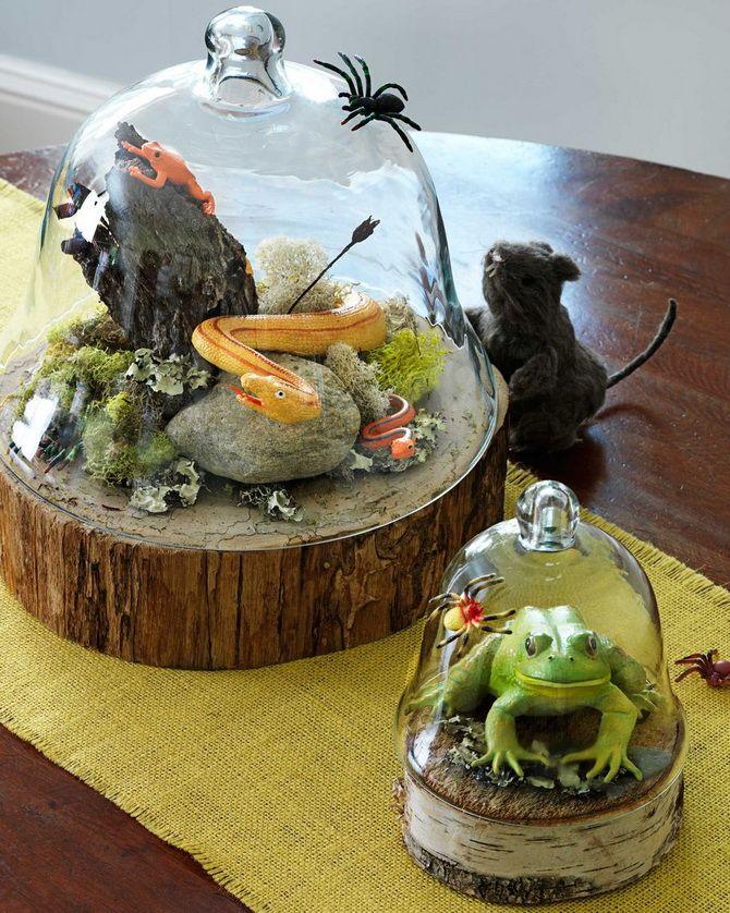 Комната страха: украшаем домашний интерьер на Хэллоуин 2020 9