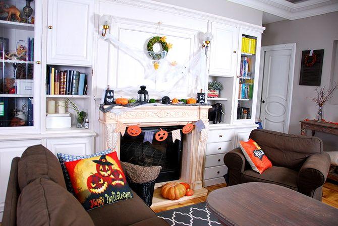 Прикрашання будинку на Геловін 2020: круті варіанти і фото ідеї 13