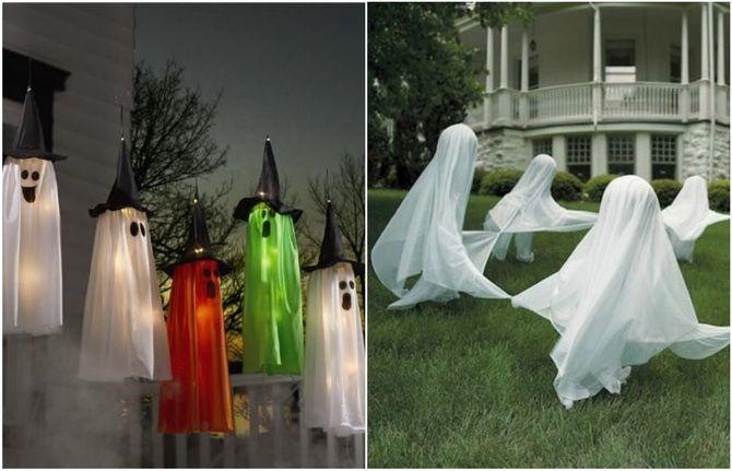 Прикрашання будинку на Геловін 2020: круті варіанти і фото ідеї 3