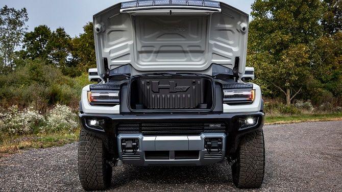 Hummer возвращается: GM представила свой первый электрический пикап с рекордной мощностью 6