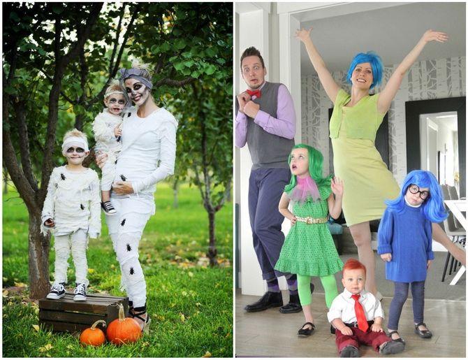 Костюм на Геловін своїми руками: прості та бюджетні варіанти для всієї родини 14