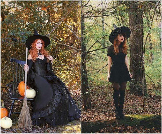 Колдовская красота: костюм ведьмы на Хэллоуин своими руками 10