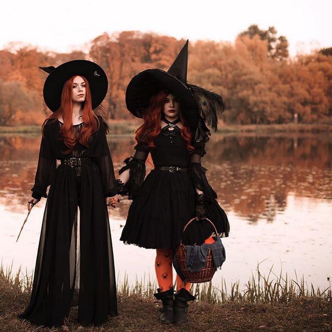 Колдовская красота: костюм ведьмы на Хэллоуин своими руками 11