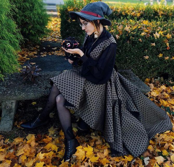 Колдовская красота: костюм ведьмы на Хэллоуин своими руками 13