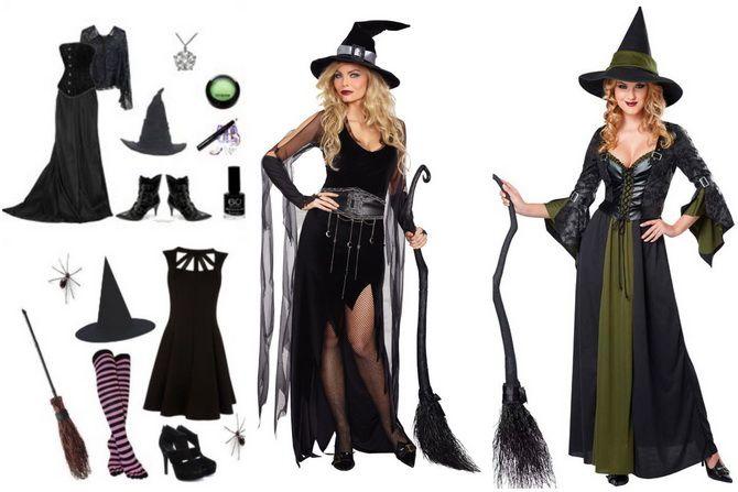 Колдовская красота: костюм ведьмы на Хэллоуин своими руками 8