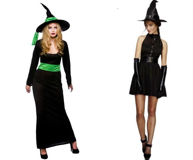 Колдовская красота: костюм ведьмы на Хэллоуин своими руками 9