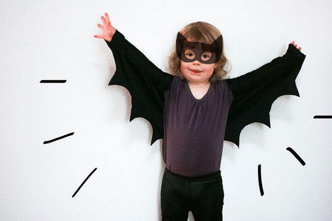 Batman повертається: як зробити костюм кажана на Геловін 1