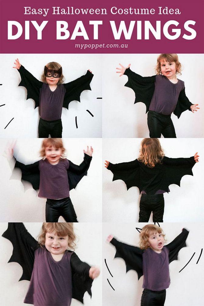 Batman повертається: як зробити костюм кажана на Геловін 11