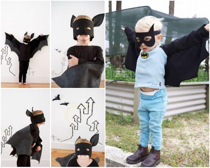 Batman повертається: як зробити костюм кажана на Геловін 12