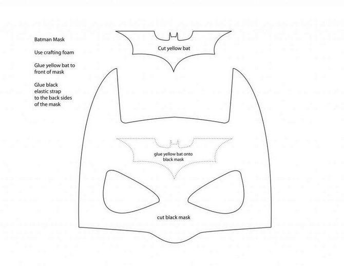 Batman повертається: як зробити костюм кажана на Геловін 13