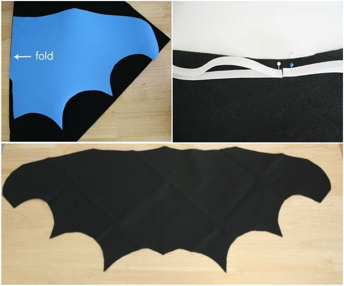 Batman повертається: як зробити костюм кажана на Геловін 15