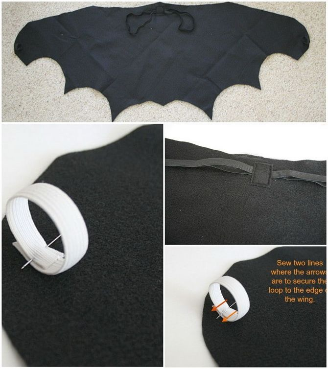 Batman повертається: як зробити костюм кажана на Геловін 16