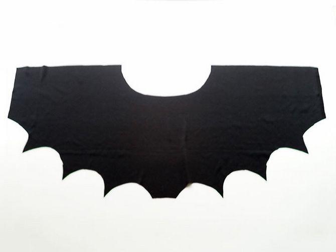 Batman повертається: як зробити костюм кажана на Геловін 8