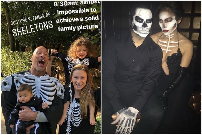 Show the bones: DIY Halloween skeleton costume 1