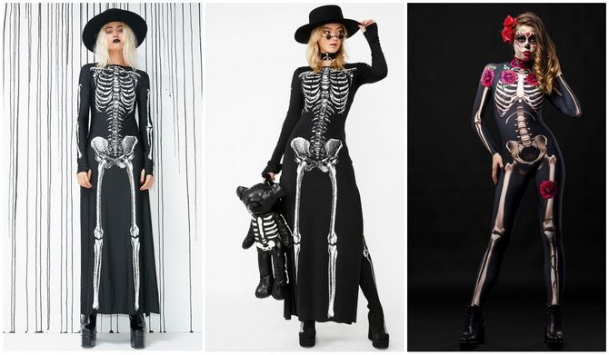 Брязкаємо кістками: костюм скелета на Геловін своїми руками 19