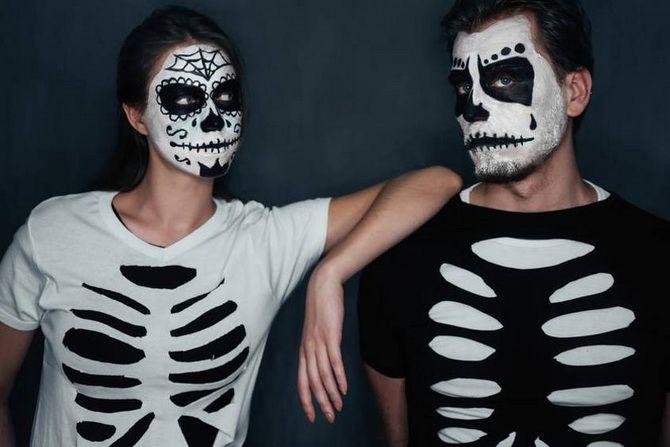 Show the bones: DIY Halloween skeleton costume 21
