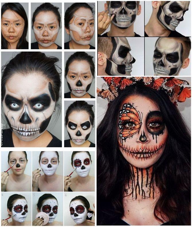 Show the bones: DIY Halloween skeleton costume 25