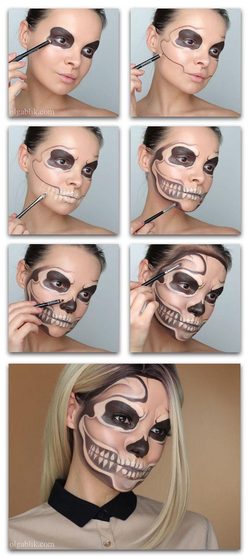 Show the bones: DIY Halloween skeleton costume 26