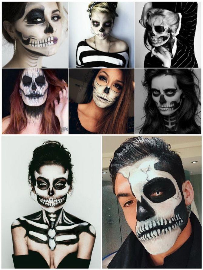 Show the bones: DIY Halloween skeleton costume 27