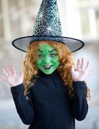 Страшно, весело и ярко: 20+ крутых идей макияжа для детей на Хэллоуин – фото, мастер-классы на видео 13