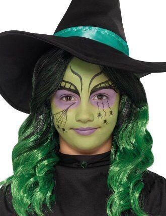 Страшно, весело и ярко: 20+ крутых идей макияжа для детей на Хэллоуин – фото, мастер-классы на видео 14