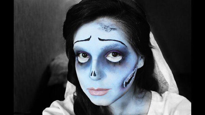 Страшно, весело и ярко: 20+ крутых идей макияжа для детей на Хэллоуин – фото, мастер-классы на видео 15