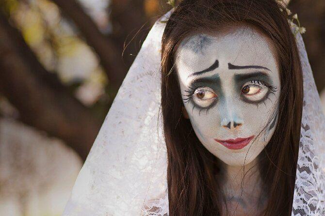 Страшно, весело и ярко: 20+ крутых идей макияжа для детей на Хэллоуин – фото, мастер-классы на видео 16