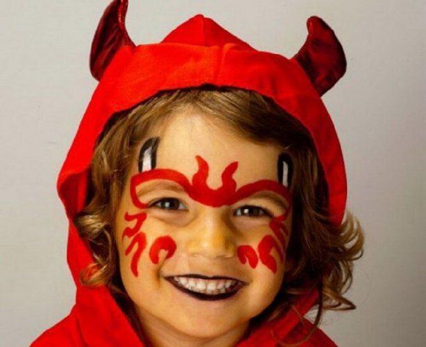 Страшно, весело и ярко:  20+ крутых идей макияжа для детей на Хэллоуин – фото, мастер-классы на видео 2