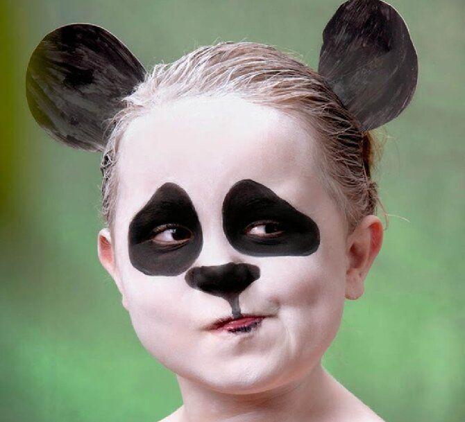 Страшно, весело и ярко: 20+ крутых идей макияжа для детей на Хэллоуин – фото, мастер-классы на видео 22