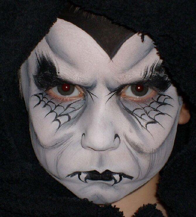 Страшно, весело и ярко:  20+ крутых идей макияжа для детей на Хэллоуин – фото, мастер-классы на видео 23