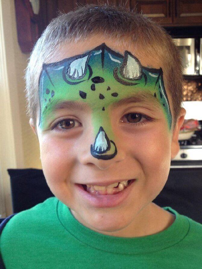 Страшно, весело и ярко:  20+ крутых идей макияжа для детей на Хэллоуин – фото, мастер-классы на видео 30