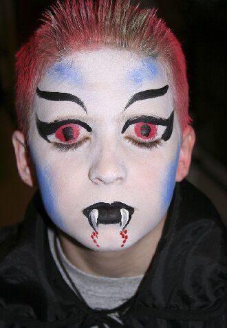 Страшно, весело и ярко:  20+ крутых идей макияжа для детей на Хэллоуин – фото, мастер-классы на видео 4
